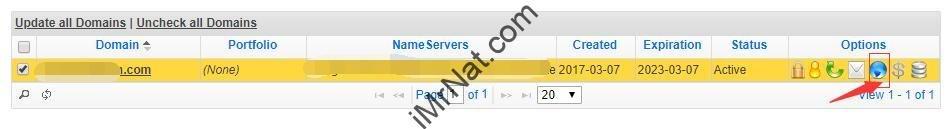 NameSilo DNS setting