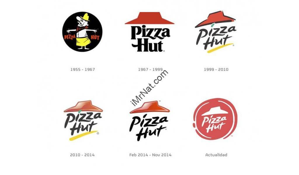 Pizza Hut Logo Timeline