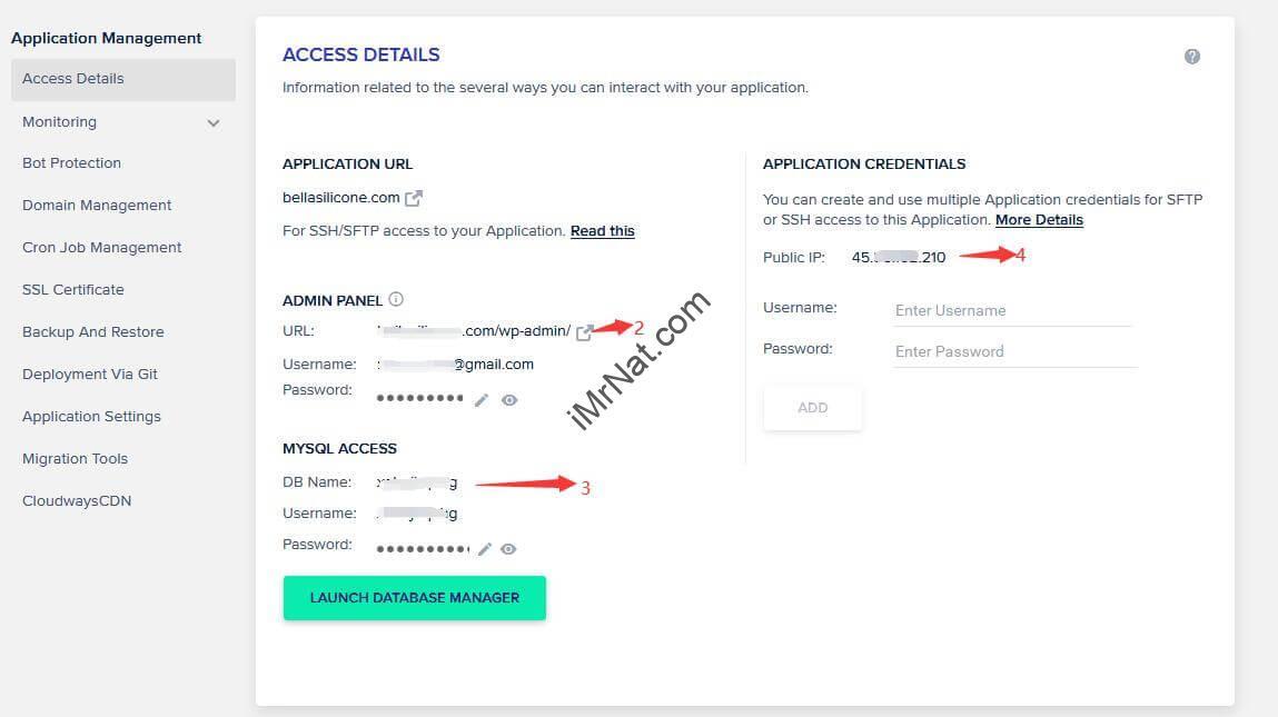 access details